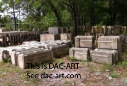 architectural detail on these DAC-ART components including base, plinthe, casing, jamb, etc.